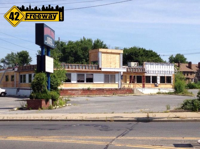 Brookawn Diner Construction Moving Fast