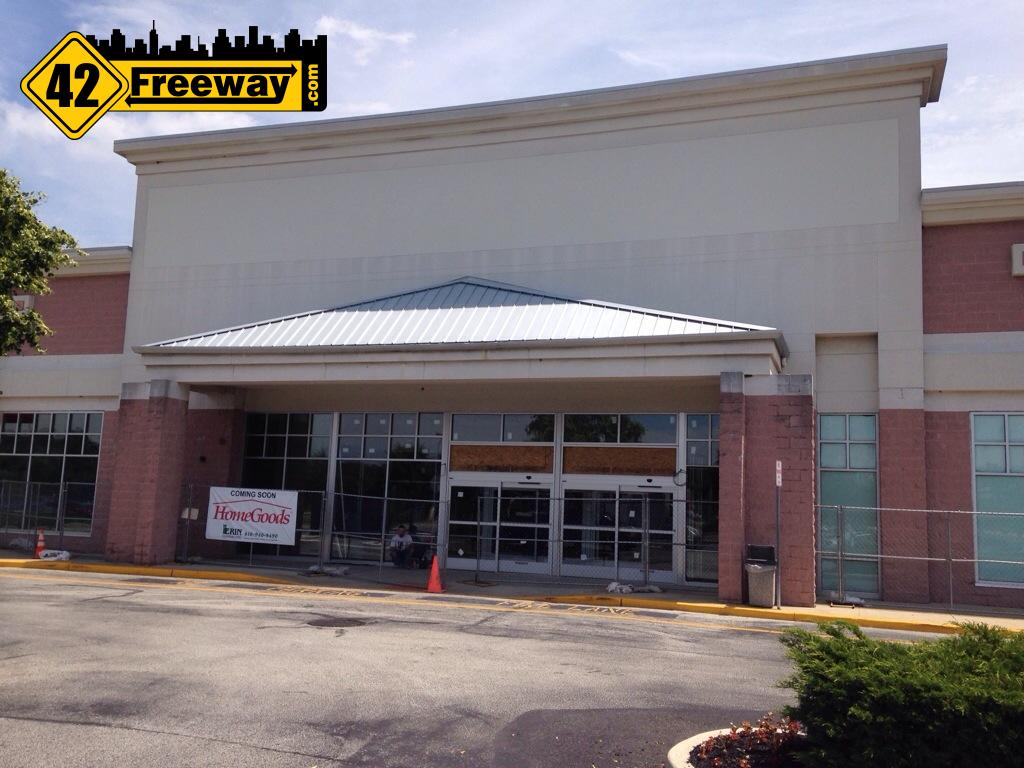 Deptford HomeGoods Store Construction Progress