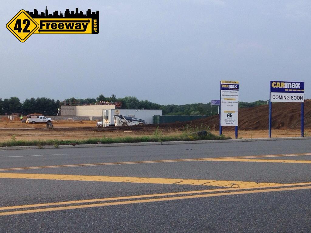 Walls forming at Carmax Winslow