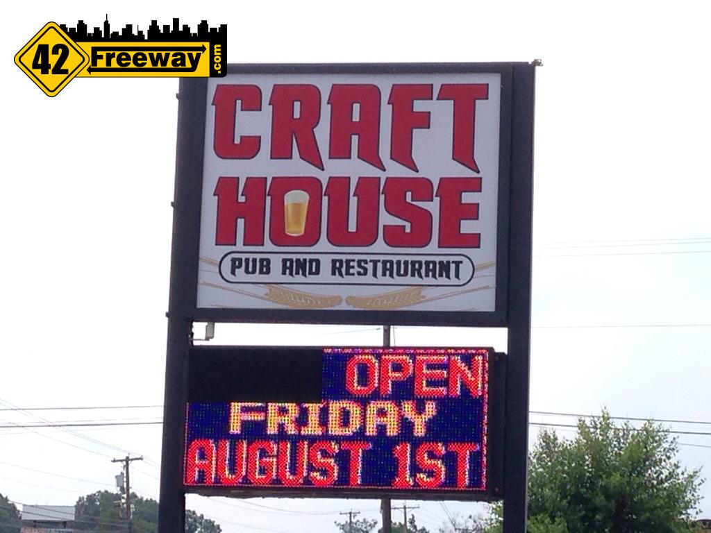 Craft House Opens Aug 1 at Williamstown's Taylor's location