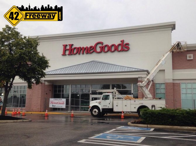 Deptford HomeGoods Signage Up