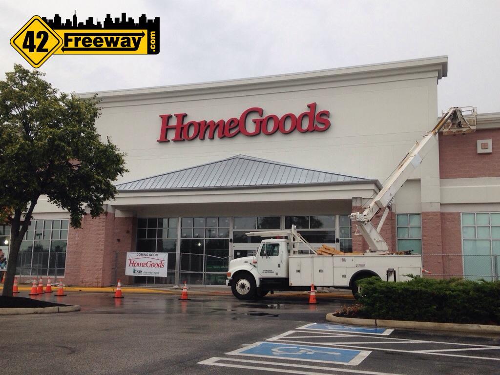 Deptford HomeGoods Signage Up
