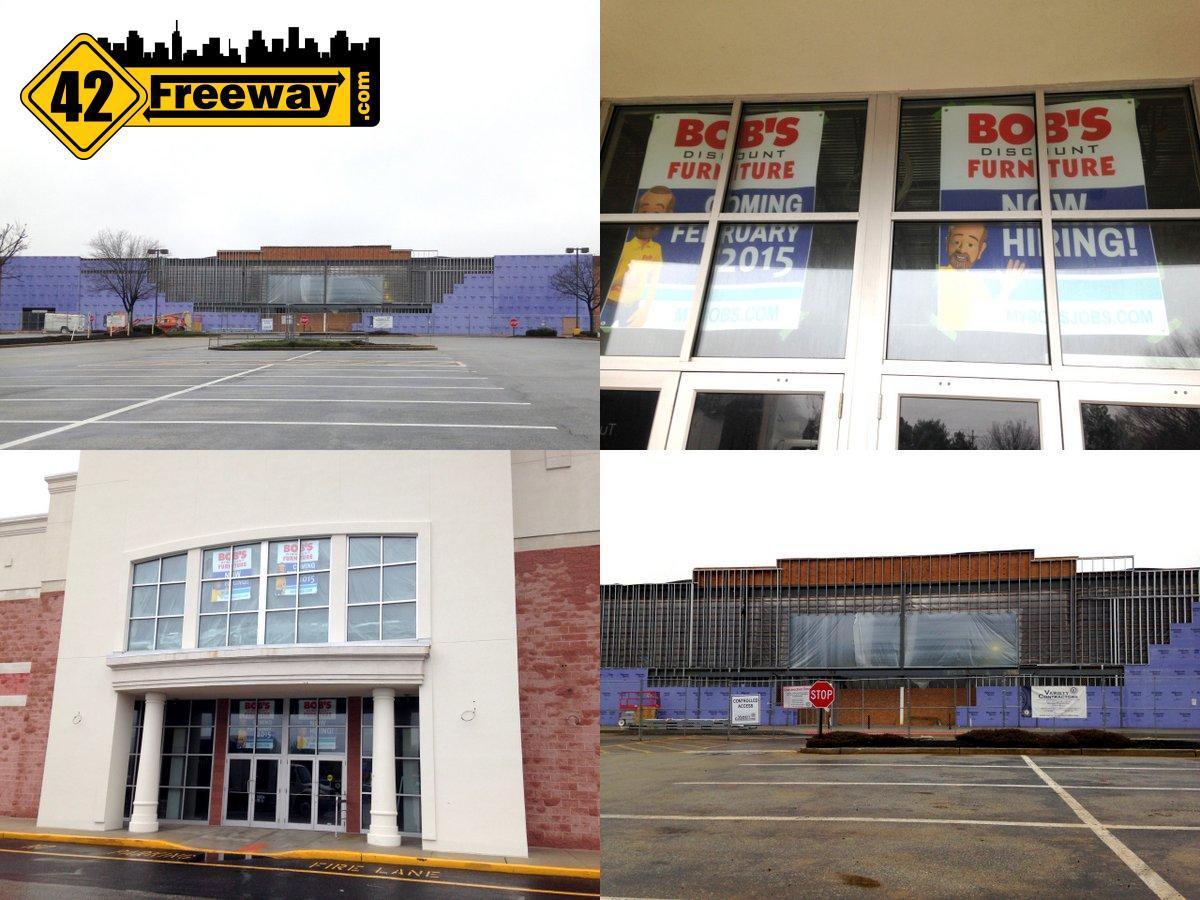 Deptford: Bob's Opens Feb 12th plus Burlington Factory Career Fairs