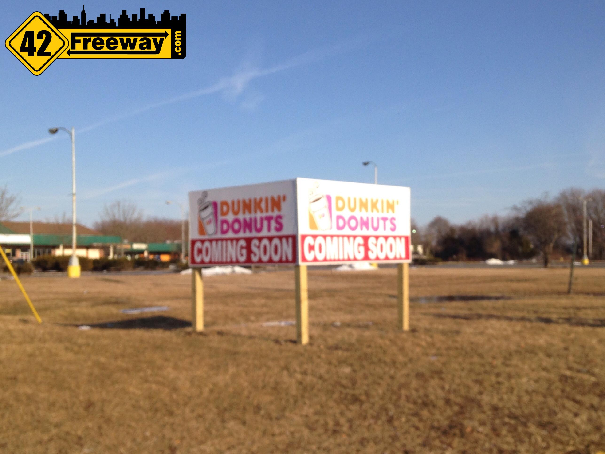 Blackwood Getting A New Dunkin Donuts Near Sam's Bar