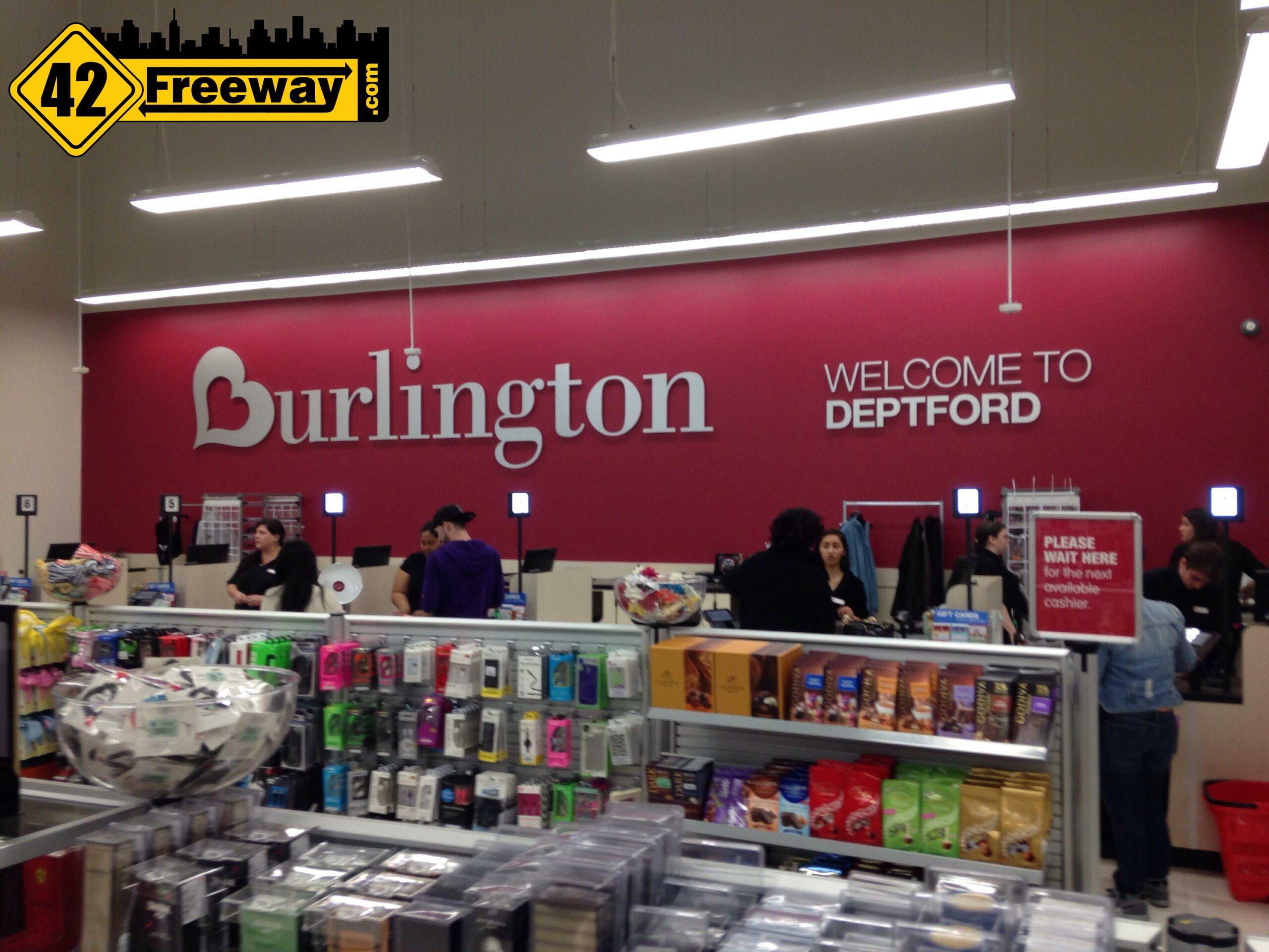 Open! Burlington's New Deptford Store in soft opening mode