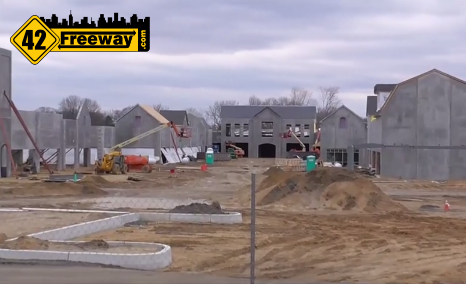 Gloucester Premium Outlets Construction Video 03/15/2015