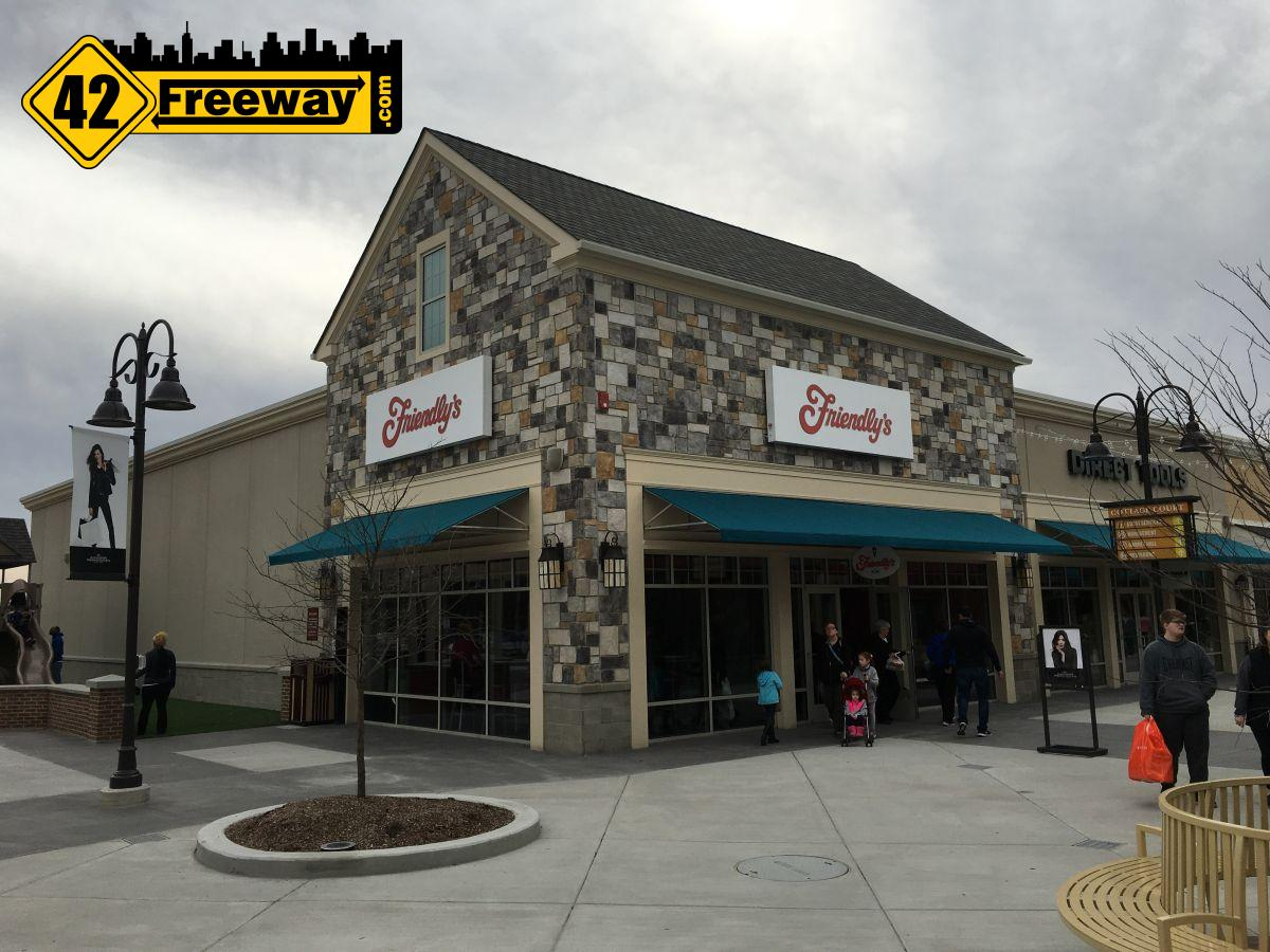 New Friendly's At Gloucester Premium Outlets