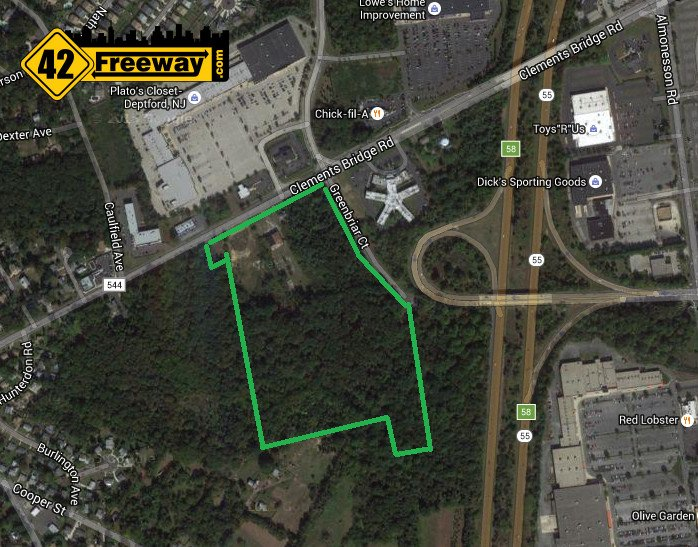 Inspira HealthPark coming to Deptford?  Inspira buys 30 acres next to long delayed Movie project.