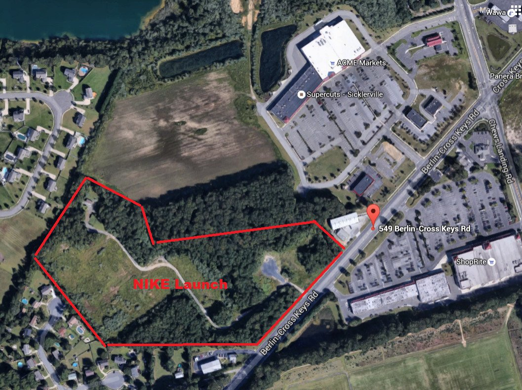 German discount Supermarket LIDL, targets Gloucester Township's Nike Missile Base for US entry.