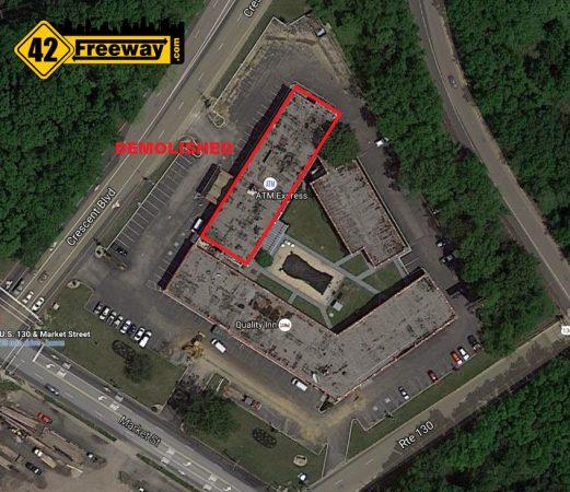Quality Inn Gloucester Demolition Map