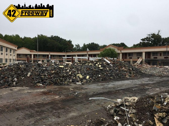 "Quality ""Gloucester"" Inn Demolition Started Ahead Of Royal Farms Construction"
