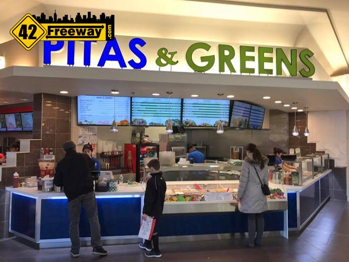 Pita's & Greens opened before the holidays at Deptford Mall food court…