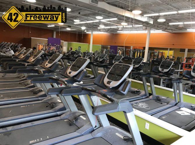 Deptford's Anytime Fitness Sneak Peak!  Opens This Week (May Second Week)