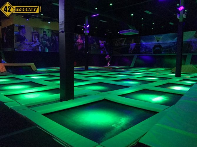 Deptford's Launch Trampoline Park:  A Photo Visit
