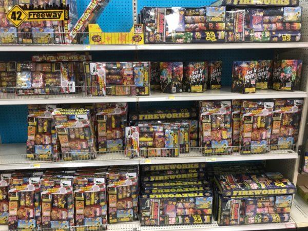Fireworks at Deptford Target