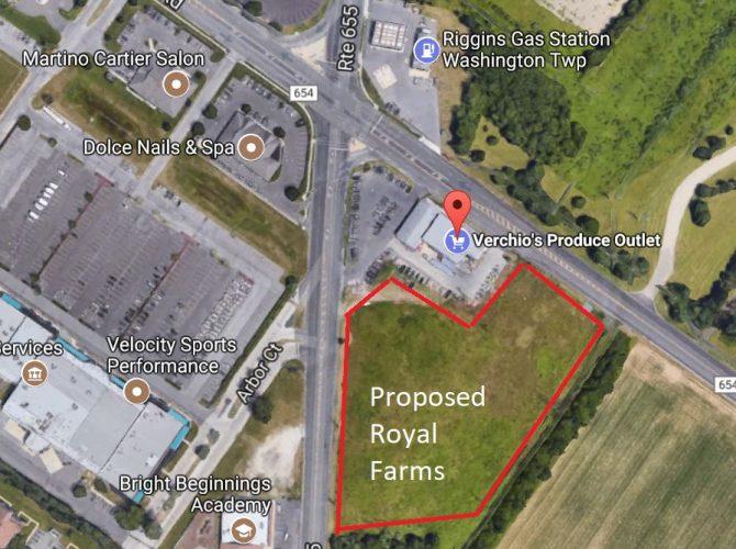 Washington Township Proposed Royal Farms Store Next To Verchios Still Facing Hurdles