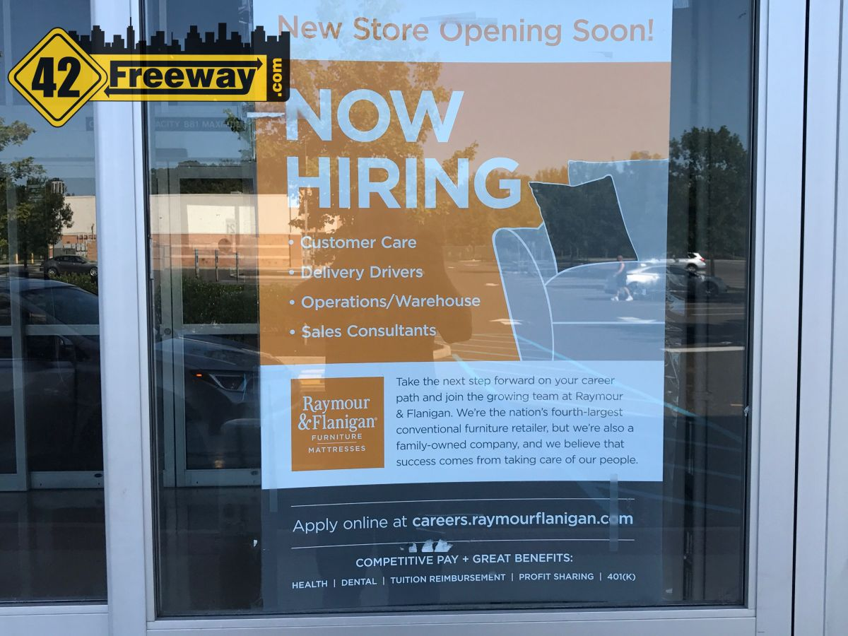 ... On The Door Indicates They Are Coming And Hiring! It Seems Clear At  This Point That This Will Be A Second Deptford Location For The Retailer,  ...