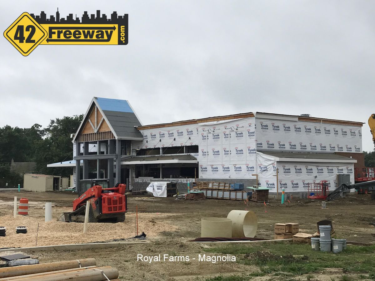 Royal Farms Progress Photos:  Gloucester City, Bellmawr, Magnolia 08/12/2017