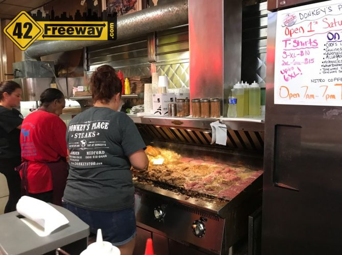Rainy Saturday In Camden: Donkey's Cheesesteaks And Cooper River Distillers (Photos)