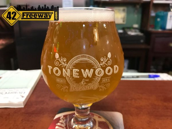 Tonewood beer at Donkey's Place Camden