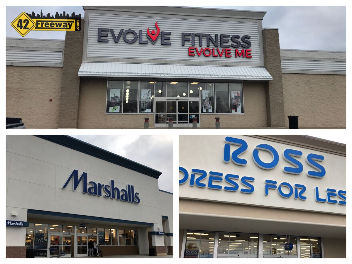 Audubon's Evolve Fitness, Marshalls And Ross Are All Open