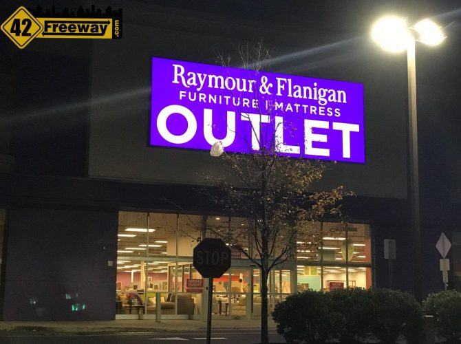 Deptford Raymour And Flanigan Outlet Plans For Opening Wednesday Oct 25, 2017