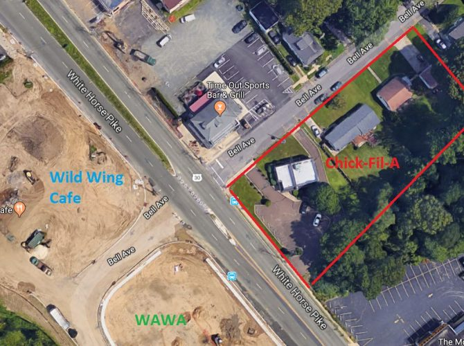 Chick-Fil-A Planned For Barrington NJ's White Horse Pike.  Chicken Challengers!