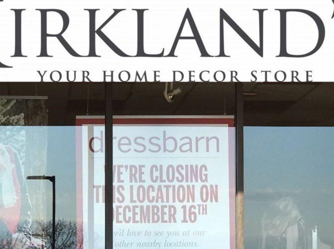 Deptford: Kirkland's In, Dressbarn Out. Same Store Location?
