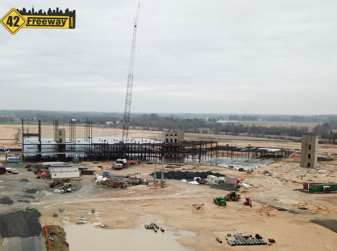 Inspira Hospital Mullica Hill Taking Shape:  Photo