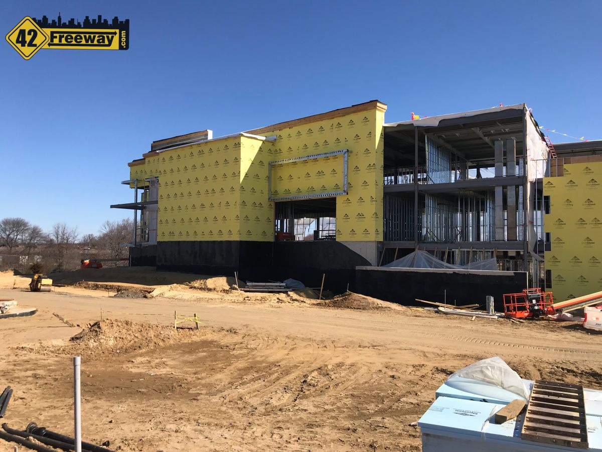Top Golf Mt Laurel Construction Update.  MASSIVE!  Springtime Is Golf Time!  (Photos)