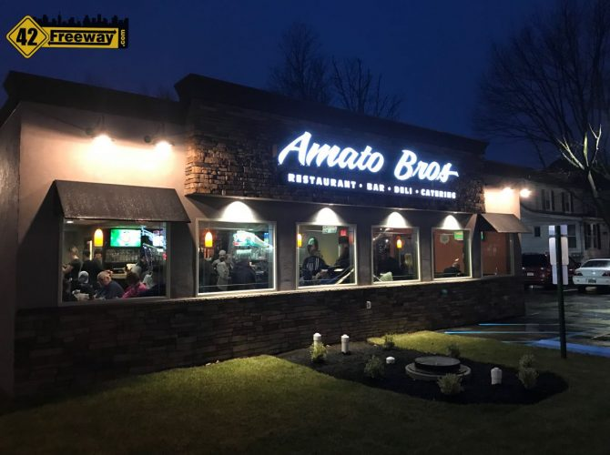 Mind Blown! Amato Brothers Deli And BAR Opens In Oaklyn NJ.  Photos!