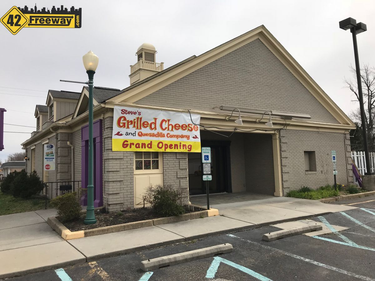 Steve's Grilled Cheese and Quesadilla Company opens in Stratford.  Joins Glassboro and 4 others.