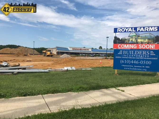 Royal Farms Blackwood-Clementon Road Construction Starts