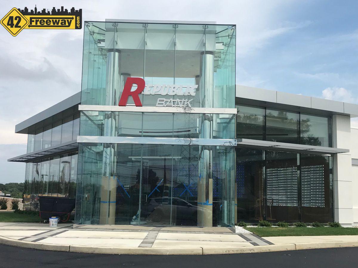 Republic Bank  Blackwood-Clementon Road Opens July 28 (Gloucester Township)
