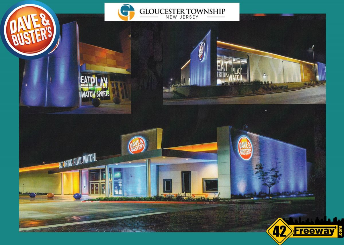 Dave And Buster's Approved For Gloucester Township – Images And Details