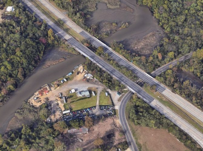 Route 42 Gloucester Township Construction:  Bridge Rebuilding