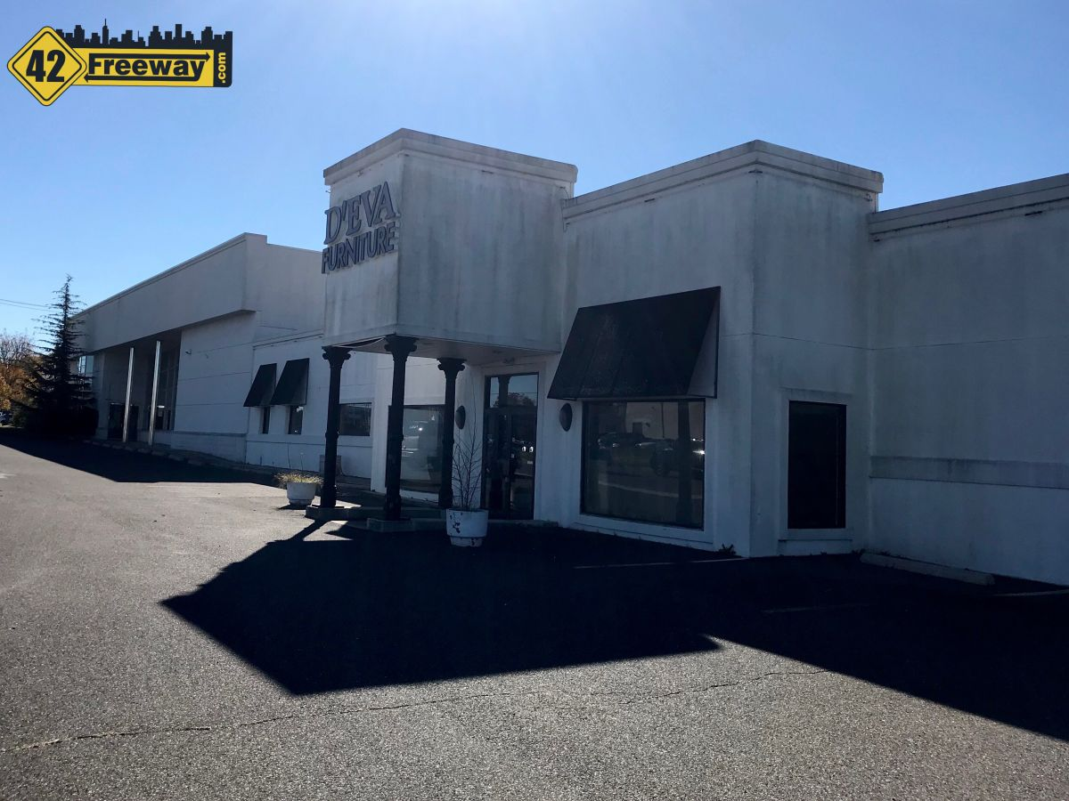 D'Eva Furniture Building in Turnersville to Come Down, Panda Express First New Tenant