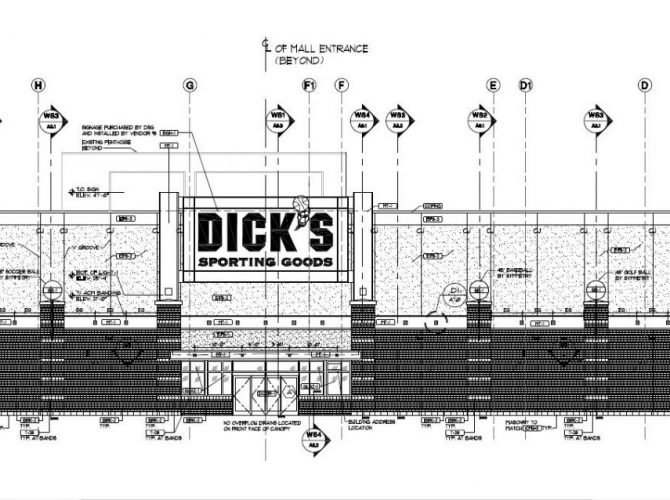 DICK'S Sporting Goods Moving To Deptford Mall Sears Lower Level