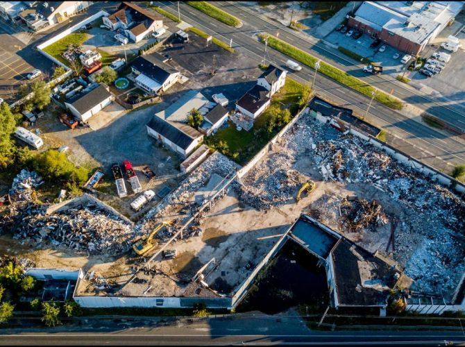 Watson Turkey Plant Demolition Photos And Video (Washington Township)