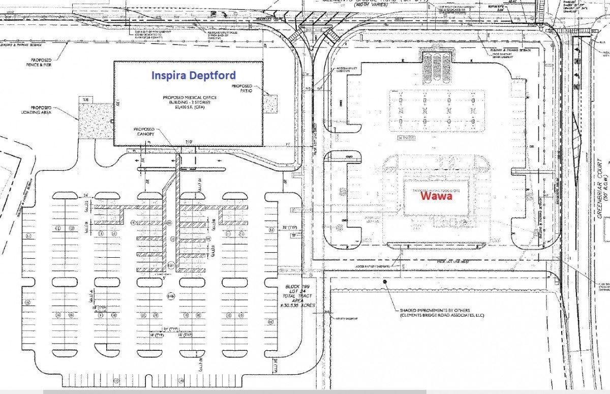 Insipira Deptford Early Concept Siteplan – Plus Wawa