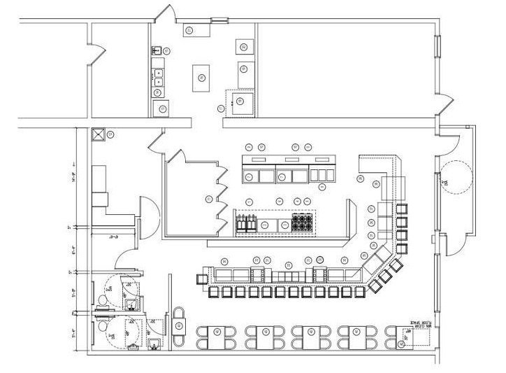 Briglia's Tavern Winslow Plans for Late Spring Opening!  We Have Layout and Gameplan!
