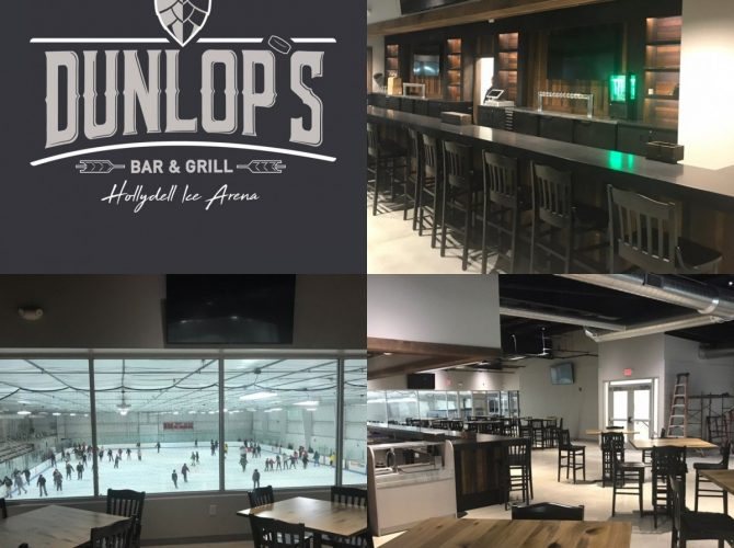 Dunlop's Bar And Grill At Hollydell Sewell Shoots For Mid-January Open!  Exclusive Photos!
