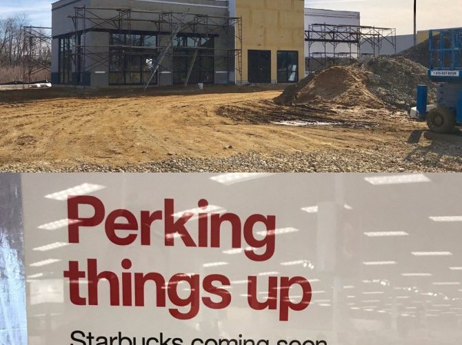 Deptford Starbucks Central:  Two New Locations Opening 800 Ft Apart, Means Four In Half Mile