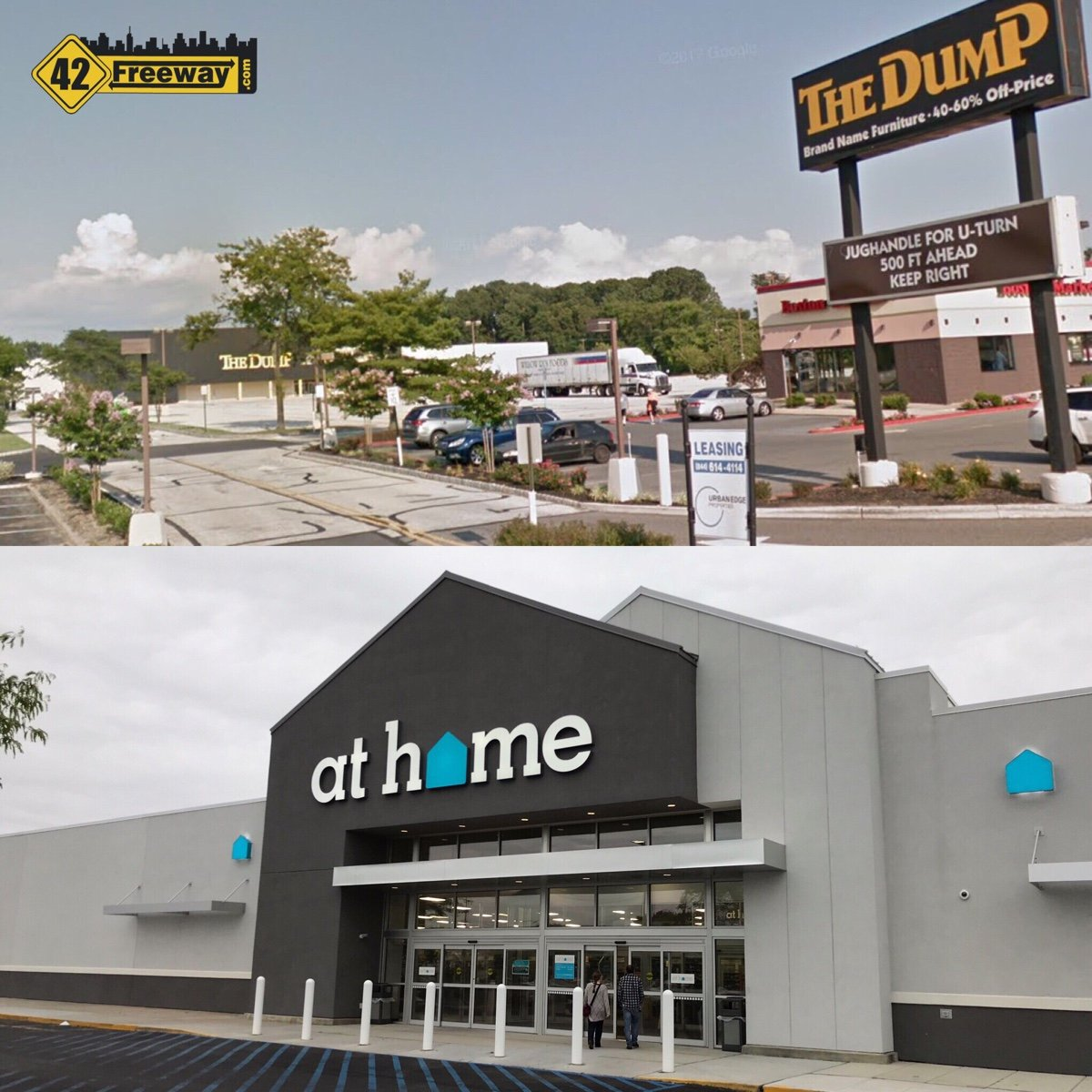 """At Home"" Store Coming to Washington Township's The Dump Location (Leasing Company Site)."