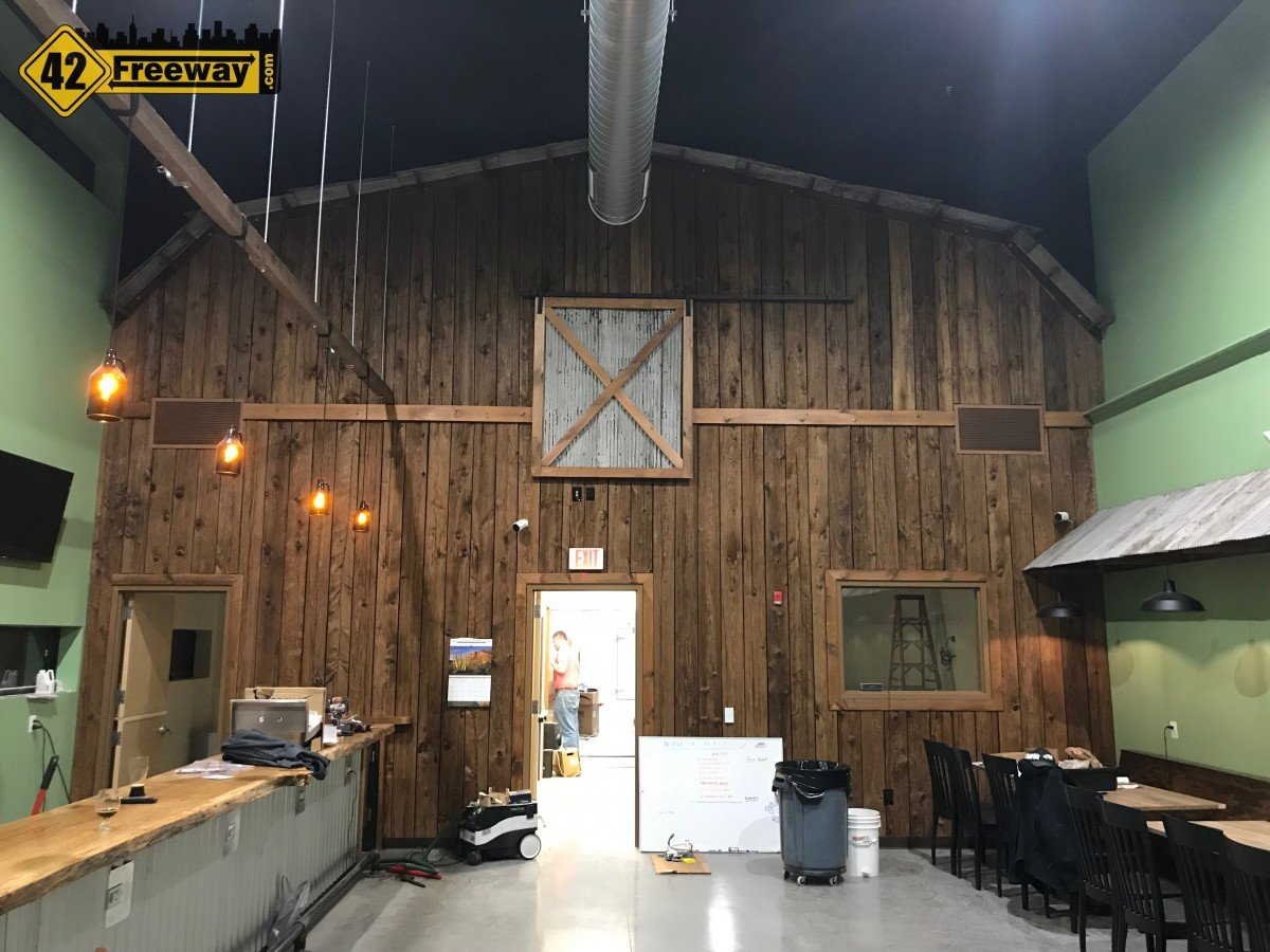 Neck of the Woods Brewing in Mantua/Pitman Heads Towards Late April Opening