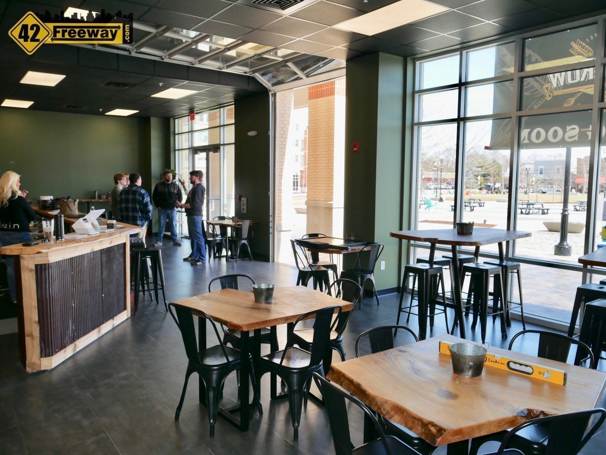 Axe and Arrow Microbrewery at Rowan Glassboro Opens This Weekend April 6!
