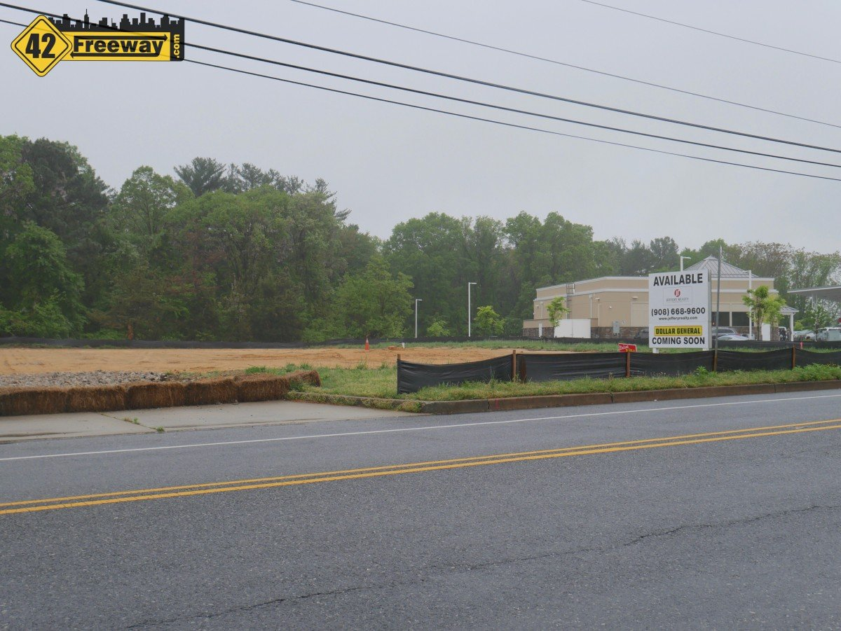 Dollar General Coming to Mantua, Positioned Behind the New Wawa.  More Stores to Come