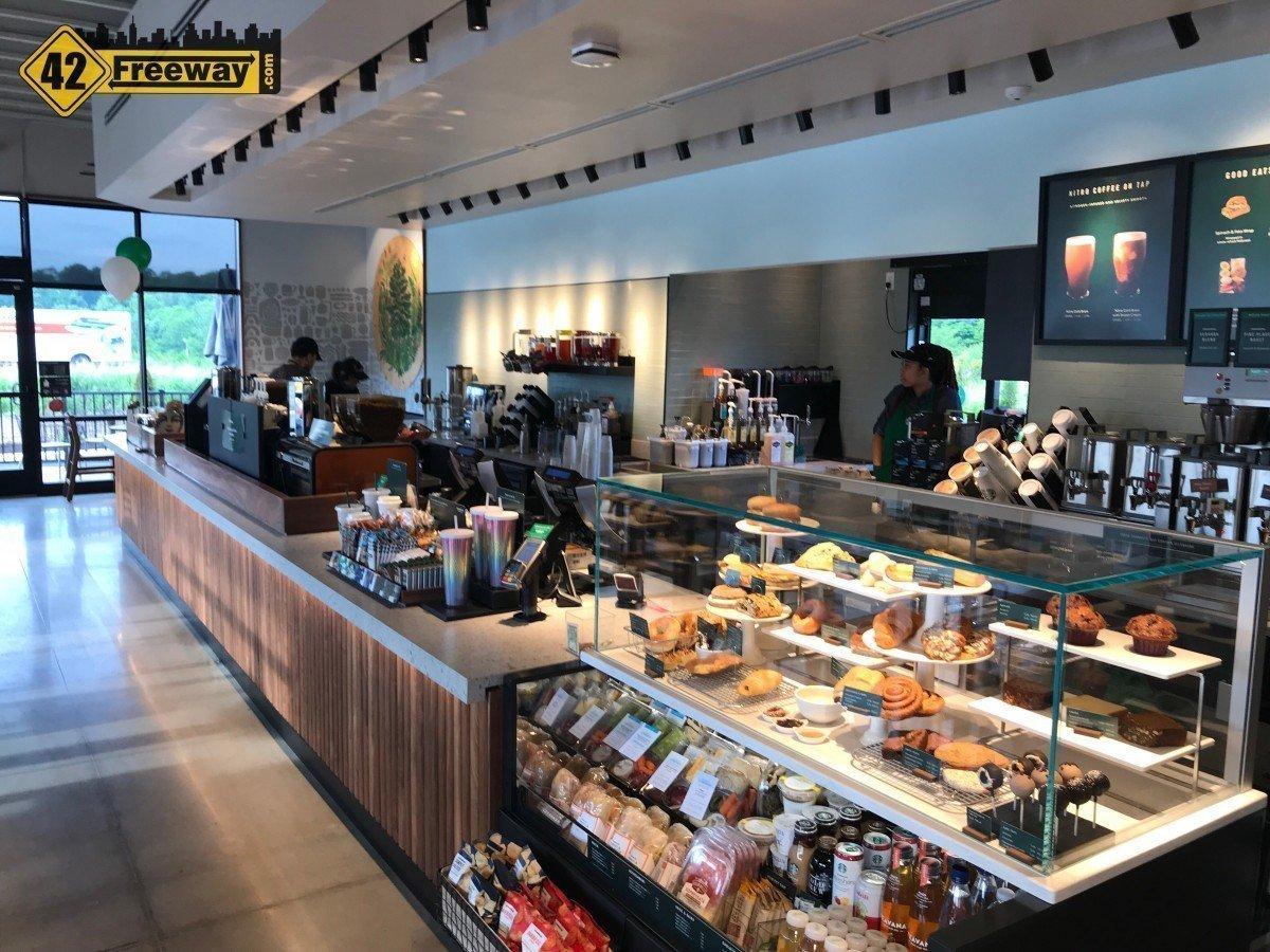 Deptford Full Starbucks (with Drive-Thru) is OPEN!   Deptford Target Starbucks is Also OPEN!  Photos