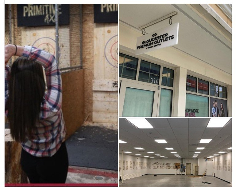 Primitive Axe Expanding To Gloucester Premium Outlets!  Throwing for a June 2019 Opening