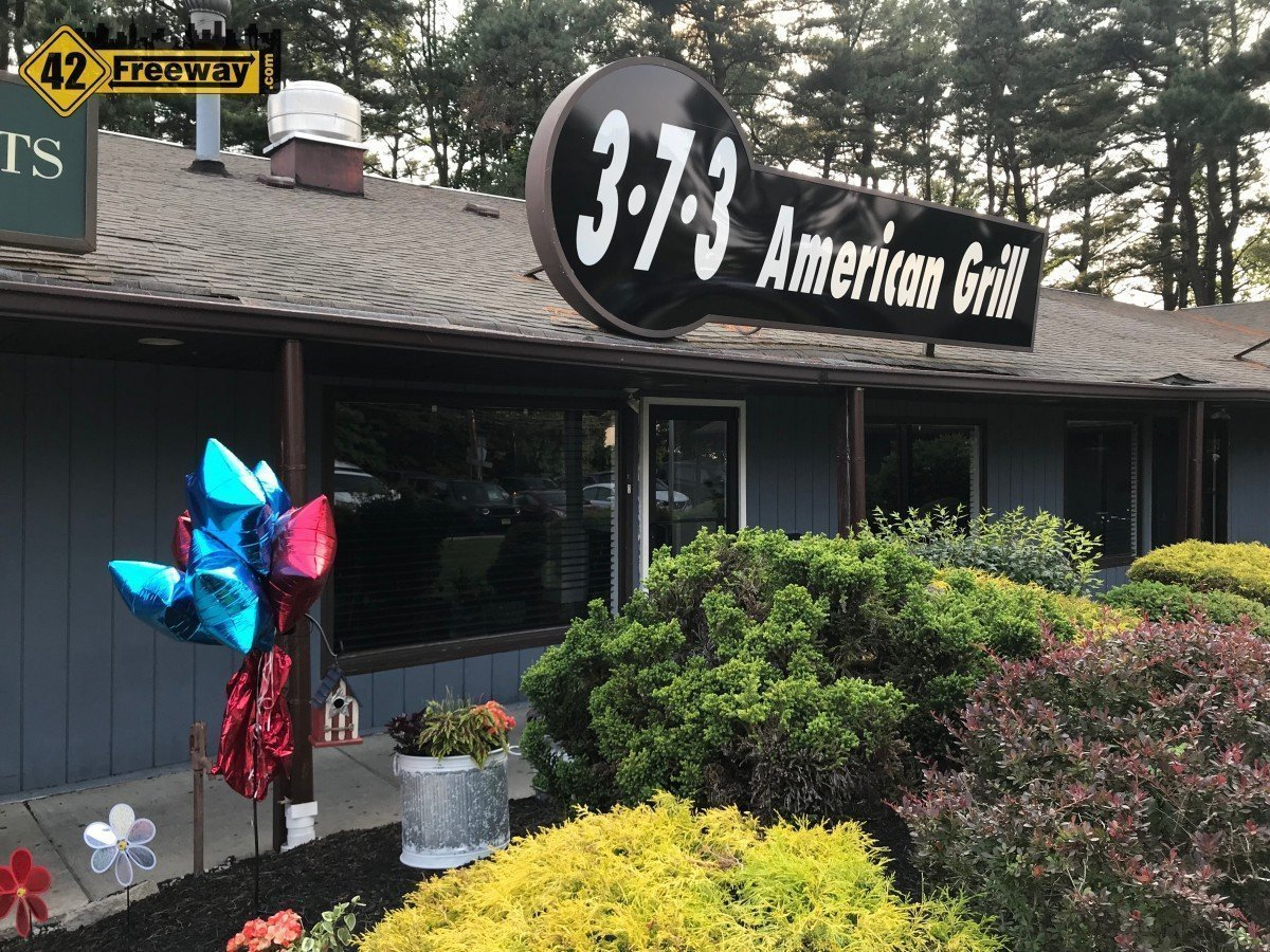 373 American Grill is OPEN in Washington Twp on Egg Harbor Road.  Delicious Variety of Food!